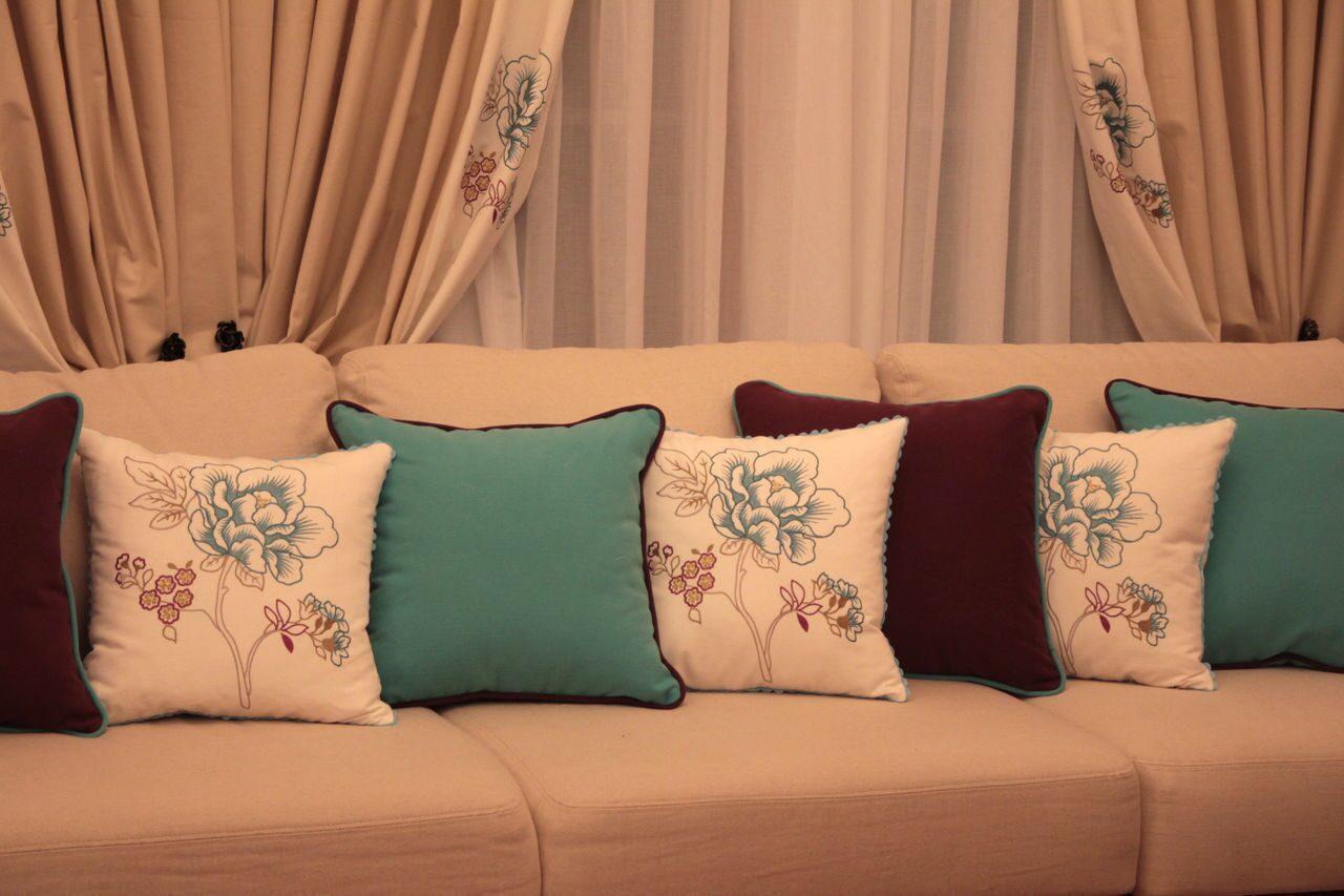 Как сшить диванную наволочку
